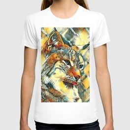 AnimalArt_Lynx_20170601_by_JAMColors T-shirt