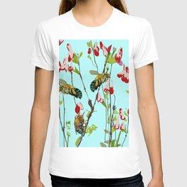Blue Banded Bee Amegilla cingulata T-shirt