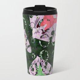 Flowers and Moths Travel Mug