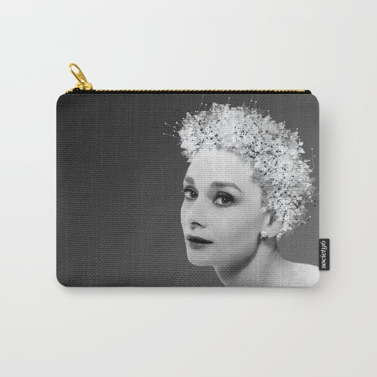 Audrey in Black Carry-All Pouch