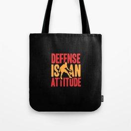 Handball Player Funny Sport Team Gift Idea Defense Tote Bag