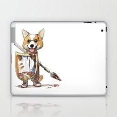 Corgi Barbare Laptop & iPad Skin