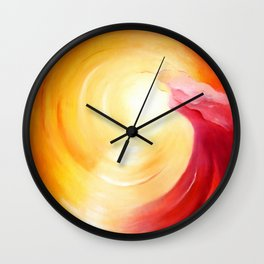 Soul journey into the light Wall Clock