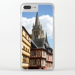 Vannes 3 Clear iPhone Case