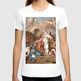 Jacques-Louis David - Apollo and Diana Attacking the Children of Niobe - Digital Remastered Edition T-shirt