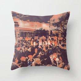 Denver Women's March Throw Pillow