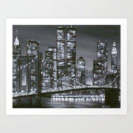 City of Yesterday Art Print