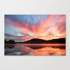 Glory: A Spectacular Sunrise Canvas Print
