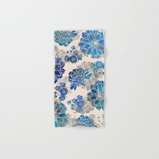 Flower Pattern Design #2 Hand & Bath Towel