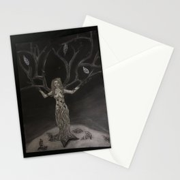 The Creation of Women Stationery Cards