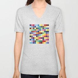 Pantone Color Palette - Pattern Unisex V-Neck