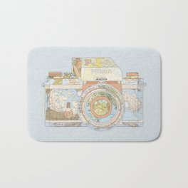 TRAVEL NIK0N Bath Mat