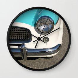 Vintage Car Headlight Wall Clock