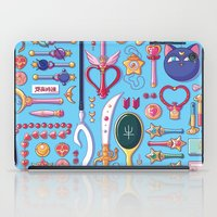 arsenal iPad Cases featuring Magical Arsenal Blue by Paulina Ganucheau