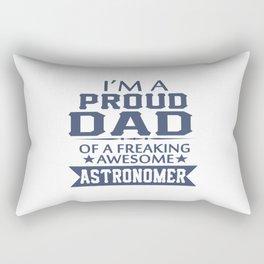 I'M A PROUD ASTRONOMER'S DAD Rectangular Pillow