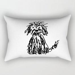 Doggy day Rectangular Pillow