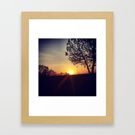 Sunset IV Framed Art Print