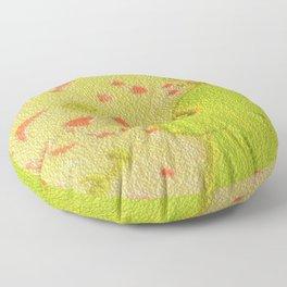 Secretly in love-4 Floor Pillow