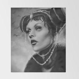 Vampire Queen Throw Blanket