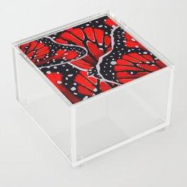 red monarch Acrylic Box