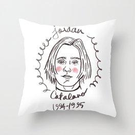 It's Jordan Catalano, or whatever.  Throw Pillow