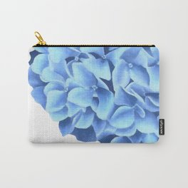 Hydrangea, Big blue flower Carry-All Pouch