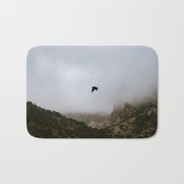 Free as a bird flying through the mountains, Big Bend - Landscape Photography Bath Mat