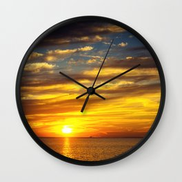 Mississippi Gulf Coast Wall Clock