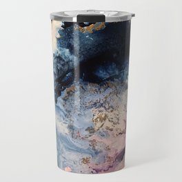 Rage - Alcohol Ink Painting Travel Mug