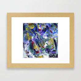 When I Think of You, 2014 Framed Art Print