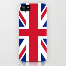 flag of uk- London,united kingdom,england,english,british,great britain,Glasgow,scotland,wales iPhone Case