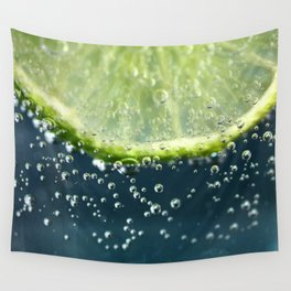 Lemony Limy Wall Tapestry