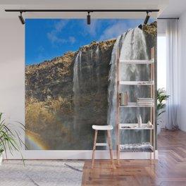 Icelandic Waterfall Wall Mural