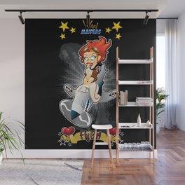 War Maiden - Fly Girl Wall Mural