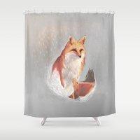wonderland Shower Curtains featuring Wonderland by Dominikaa