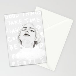 Take time Stationery Cards