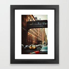 New York - Chelsea Market Framed Art Print