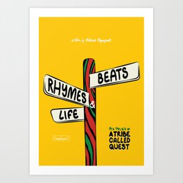 A Tribe Called Quest - Beats, Rhymes & Life, The Travels of - 2011 Art Print