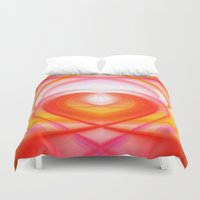 cocaine Duvet Covers featuring Twirl in Love by Heidi Anne Morris