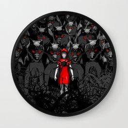 Girl N the Hood Wall Clock