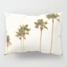 Boulevard Palm Trees Pillow Sham