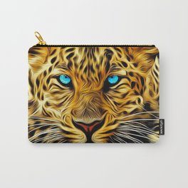 A blue eyes African tiger Carry-All Pouch