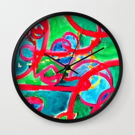 Party On Wall Clock