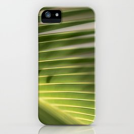 Green Karma iPhone Case
