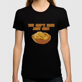 Funny National Potato Chips Day graphic T-shirt