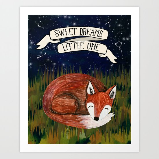 Sweet Dreams, Little One Art Print