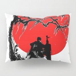 Samurai sun Pillow Sham