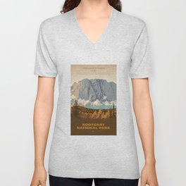 Kootenay National Park Unisex V-Neck