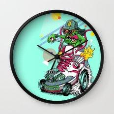 RIDE IT, KICK IT! Wall Clock