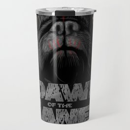 Dawn of the Planet of the Pugs Travel Mug